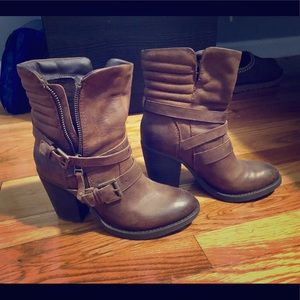 Steve Madden's Leather Booties
